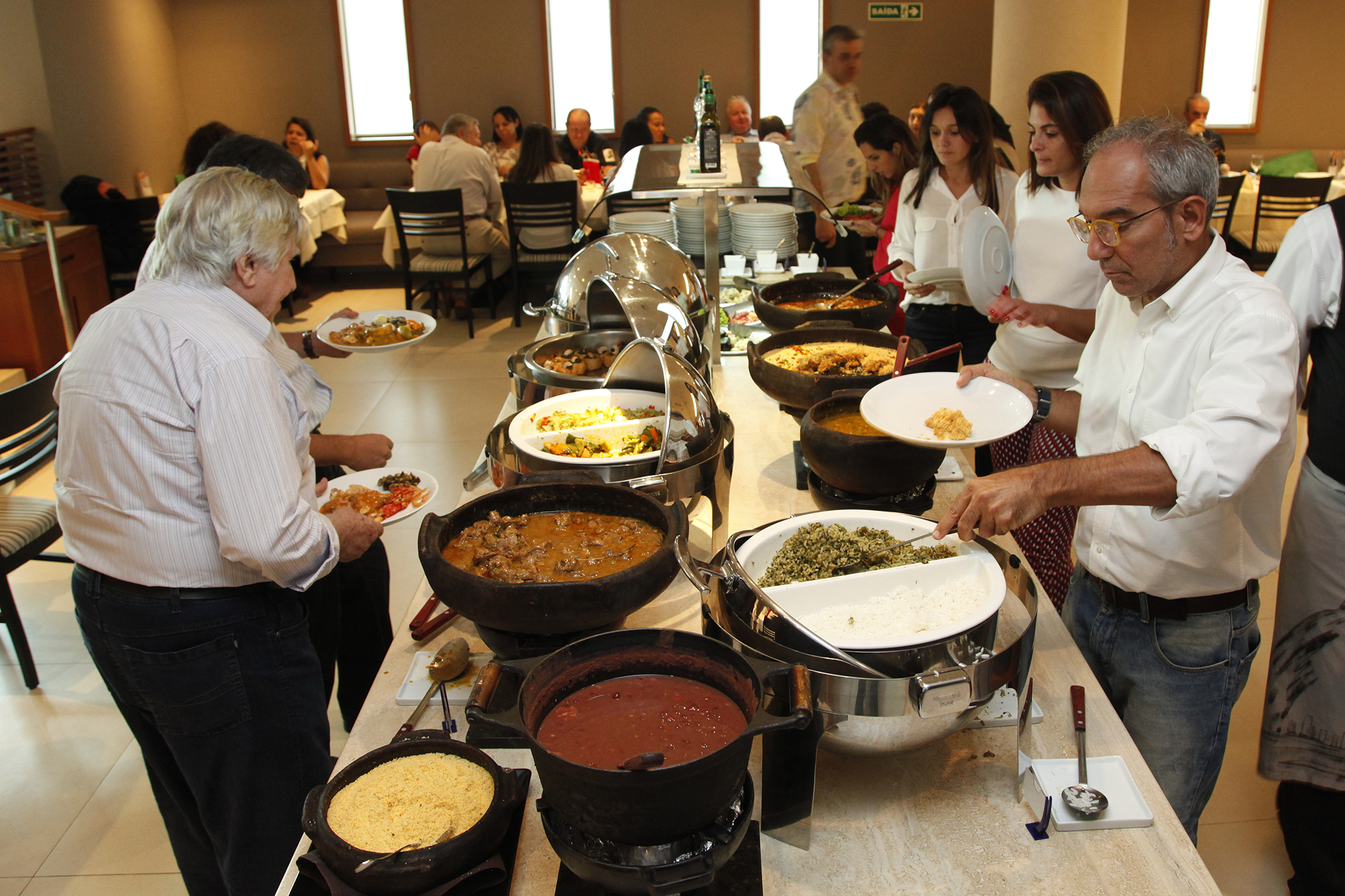 Semana da Gastronomia Regional do Maranhao, no Restaurante Senac